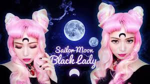 sailor moon black lady chibi usa halloween makeup 2015
