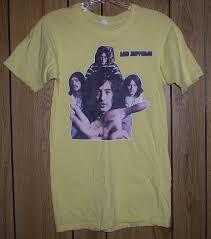 led zeppelin t shirt vintage iron on transfer for sale