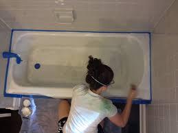 Homax Bathtub Refinishing Reviews Over On Dover Refinishing The Bathtub