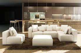 canapé design luxe italien canapé angle en cuir vachette canapé gamme canapé d angle de