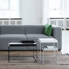 Hay Side Table Hay Tray Coffee Table In Black Or White The Minimalist