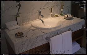 Marble Bathroom Vanity Tops Turkey Calacatta Marble Bathroom Vanity Top Stonecontact