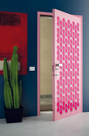Cool Bedroom Doors by Super Modern Interior Doors With Cool Graphic And Colors Digsdigs