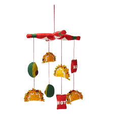 taco dreams mobile baby mobile play food uncommongoods