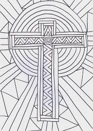 flame creative children u0027s ministry cross reflective colouring sheet