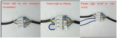 fluorescent light wiring emergency light ballast wiring diagram