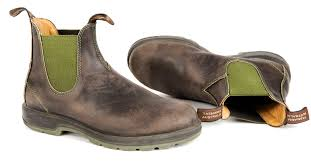 s blundstone boots australia blundstone 1402 green and brown with two tone sole style