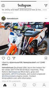 motocross bike trailer ten kjsc bikes stolen moto related motocross forums message