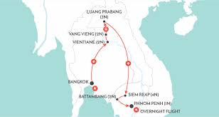 Laos World Map by Laos And Cambodia Unveiled Laos Tour Wendy Wu Tours