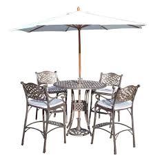 patio bar height dining set 7 bar height outdoor dining set 7 bar height outdoor