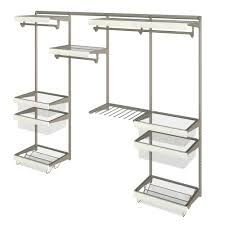Rubbermaid Closet Configurations Wire Closet Systems Wire Closet Organizers The Home Depot