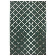 shop allen roth elysian trellis green milieu rectangular indoor