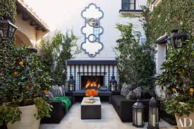 get the look of khloé kardashian u0027s outdoor living space by martyn