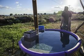 building a u0027hillbilly tub u0027 for a good backyard soak the taos