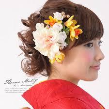 hair decoration soubien rakuten global market wave two points of hair ornament