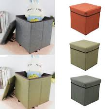 divano ottomano lc cubo tessuto magazzinaggio panca divano ottomano sedile