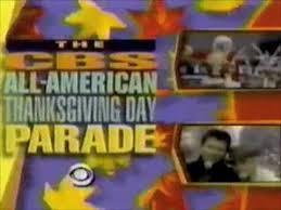 cbs all american thanksgiving day parade promo 1990