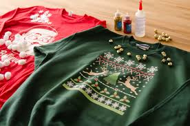Ugly Christmas Sweater Decorations Diy Holiday Series Ugly Christmas Sweaters Zazzle Blog