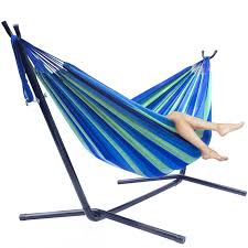 Hammock Stand Amazon Amazon Com Sorbus Double Hammock With Steel Stand Two Person