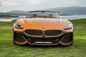 bmw concept bmw concept z4 hits the lawn at pebble beach motor trend