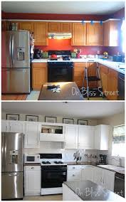 on bliss street kitchen transformation for 800 with tutorials
