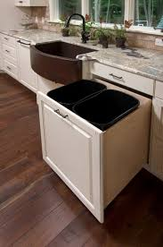 Under Cabinet Pull Out Trash Can Trash Can Cabinet Simplehuman 30 Litre Under Counter Pull Out Bin
