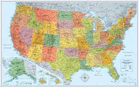wall maps signature edition u s wall maps rand mcnally store