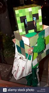 minecraft costumes minecraft costumes the box robot revisited worn by