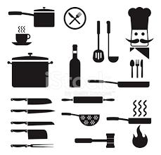 clipart cuisine gratuit redevance de cuisine ustensiles de cuisine icon set vector gratuit