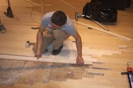 Laminate Flooring Over Tiles Home Astounding Installing Wood Floors For Home Nail Install