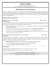 Admin Resume Examples by Cv Profile Examples Administrator Professional Profile Resume How