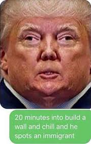 Build Your Meme - build a wall and chill netflix and chill know your meme