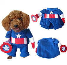 teddy clothes nacoco tm captain america pet costumes dog clothes teddy clothes