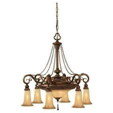 Pendant Bowl Chandelier Center Bowl Chandeliers Hanging Lights The Home Depot