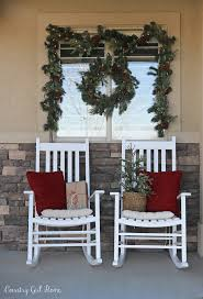 house porch at night country home christmas front porch 2017