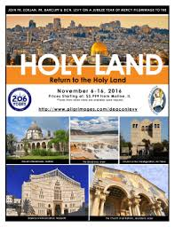 206 tours holy land fillable online return to the holy land 206 tours fax email
