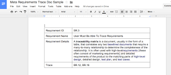 Requirements Traceability Matrix Template Excel 3 Ways Business Analyst Manage Their Requirements Traceability