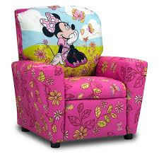 Recliners Walmart Disney Minnie Mouse Cuddly Cuties Kids Recliner Walmart Com