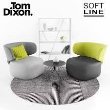Tom Dixon Sofa Softline Basel Folia Tom Dixon 3d Model Turbosquid 1210771
