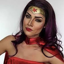 Wonder Woman Makeup For Halloween by Wonder Woman Makeup Popsugar Beauty