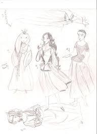 sleeping beauty sketch set 6 by anelphia on deviantart