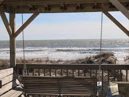 Long Beach Gazebo by The Po Boy Po Boy Oak Island Oceanfront Wifi Screened Porch