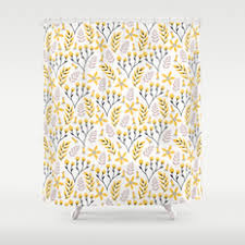 abstract pattern and vintage shower curtains society6