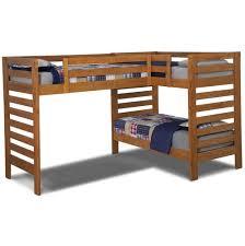 L Shaped Bunk Bed Viv Rae Deondre L Shaped Bunk Bed  Reviews - L shape bunk bed