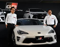 toyota sports car inspired by racing toyota roars ahead with gr sports car brand