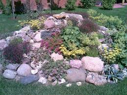 flower bed designs with rocks best flowers and rose 2017