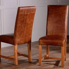 Italian Leather Dining Chairs Back Leather Dining Chairs Pair Dining Chairs And Room