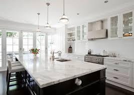 Marble Kitchen Countertops Fox Island Wa Two Tone Kitchen Countertop Granite Marble Quartz
