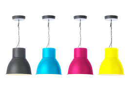 Ikea Pendant Lights Pendant Light Ikea Pendant Lamp Painted In Each Pop Color Placed