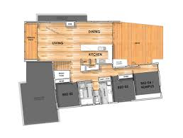 Floor Plans For Sloping Blocks by Torquay Home Designed For A Sloping Block